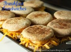Premade Breakfast Sandwiches-I made these so I could reheat them quick in the mornings. I would'nt do this again unless I was going to eat them right away. Stick to premade smoothies and burritos.
