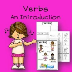 Verbs - An Introduction - Activity and Poster Set