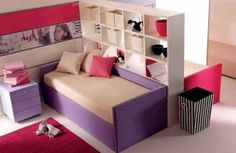 ideas to divide a shared bedroom... Wish I'd seen this pin 15 years ago!