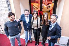 Famiglia Bucci e Maria Gomboli al Diabolik Restaurant & cafè