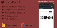 awesome InstaDp HD with Admob + Firebase + Tooleap Bubble Advertisements (Utilities)