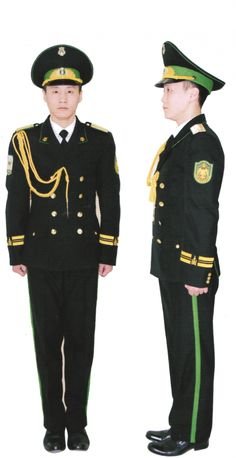 Dress uniform of the Mongolian Border Guard Band and Choir. Military Guard, Military Uniforms, Border Guard, Warsaw Pact, Uniform Dress, Cops, Captain Hat, Battle, Band