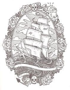 A pirates life for me. Something about this really attracts me to it. Kind of even debating on it as a tattoo :D
