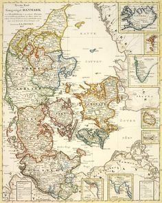 Dnd World Map, Denmark Map, Kingdom Of Denmark, Drawing Sketches, Drawings, Earth Surface, Vikings, Old Maps, Historical Maps
