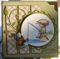 LOTV - Gone Fishing - http://www.liliofthevalley.co.uk/acatalog/Stamp_-_Boys_-_Fishing.html