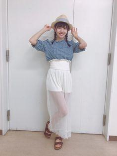 松田 好花 公式ブログ | 欅坂46公式サイト Lace Skirt, Kawaii, Celebrities, Skirts, Cute, Fashion, Moda, Celebs, Skirt