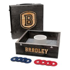 Washer Toss Game - Bradley University Braves