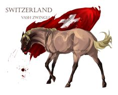Horse Hetalia: Switzerland by MUSONART on DeviantArt