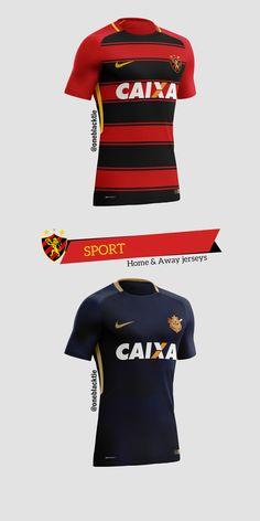 2d9be26688 Nike Brasileirão Série A 2017 Concept Jerseys