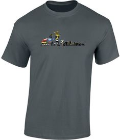 Evolution of Racing Personalised T-Shirt Funny Gift Ape to Man Cars Formula Evolution T Shirt, Personalized T Shirts, Funny Gifts, Racing, Cars, Mens Tops, Fashion, Custom Tees, Funny Presents