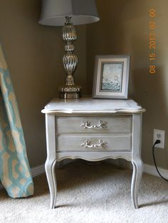 Beautiful French Provincial Side/End Table by PenelopeMayDecor, $100.00
