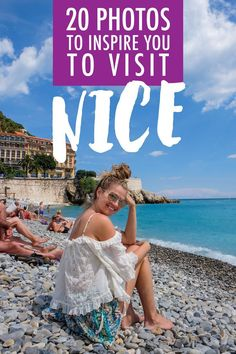 Last summer, I traveled through the South of France for the very first time. And, just as I expected, I fell in love! The pebbled coastline, cute towns and topaz sea were calling, and I answered. Here are 20 photos to inspire you to visit Nice.