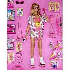 Rosie Huntington-Whiteley as Barbie // Vogue Japan