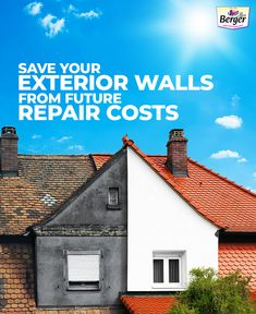Save on repairs by getting your exterior walls ready for the summer season.