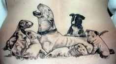 Original art by Irene Tatiana Morden, tattoo by Waihi Tattoo Studio (Deane Holland) and the photo belongs to Heidi Holland.