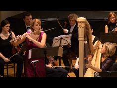 ▶ Mozart - Flute and Harp Concerto in C, K. 299 [complete] - YouTube