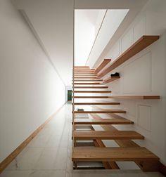 House In Moreira By Phyd Arquitectura Escalier Design Escaliers Interieur Escalier