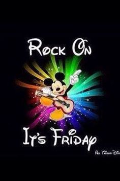 Rock On It's Friday More