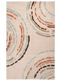Surya sprint rug, love it...colors would go nice in the kitchen!