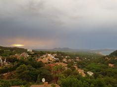 Coucher de soleil vu de Sa Punta.