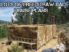 Lots Of FREE Straw Bale House Plans - SHTF Preparedness
