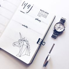 "Polubienia: 160, komentarze: 4 – Joanna (@paroksetynka) na Instagramie: ""Always be yourself, unless you can be a unicorn. Then always be a unicorn • • • #bulletjournal…"""