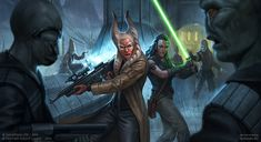 Neimoidian Ambush by DevBurmak jedi armor clothes clothing fashion player character npc | Create your own roleplaying game material w/ RPG Bard: www.rpgbard.com | Writing inspiration for Dungeons and Dragons DND D&D Pathfinder PFRPG Warhammer 40k Star Wars Shadowrun Call of Cthulhu Lord of the Rings LoTR + d20 fantasy science fiction scifi horror design | Not Trusty Sword art: click artwork for source
