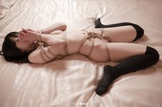 "ropemagic: ""via ""ROPE MAGiC"" featuring model: Madara photograph and ropework: Reiji Suzuki """