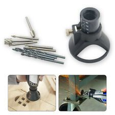 29pcs Dremel Router Attachment Rotary Multi Tool Cutting Guide Kit HSS Drill Bit
