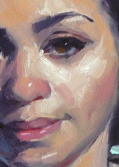 """""""Breezy"""" (close-up), John Larriva art"""