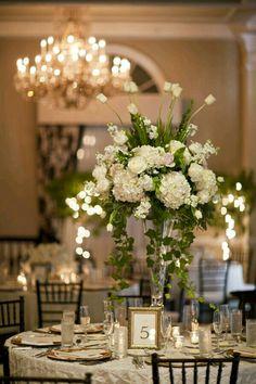 Centro de mesa para bodas, alto!!