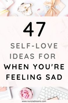When you're feeling sad, it's not always easy to focus on self care. This is a tricky issue, because low-mood days are when you need to take care of y. Anxiety Relief, Stress Relief, Feeling Sad, How Are You Feeling, All You Need Is, Low Mood, The Knowing, Self Love Affirmations, Self Care Activities
