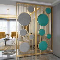 Beautiful Wall Partition Design Ideas For Your Home - Engineering Discoveries Living Room Partition Design, Living Room Divider, Room Partition Designs, Drawing Room Interior Design, Door Design Interior, Home Decor Furniture, Home Decor Bedroom, Room Decor, Beautiful Wall