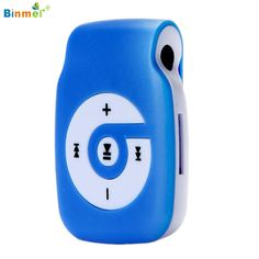 Binmer High Quality Mini Clip Metal USB MP3 Player Support Micro SD TF Card Music Media NOV23X11 #CLICK! #clothing, #shoes, #jewelry, #women, #men