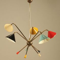 Italian chandelier by $(designerName) for sale at Deconet