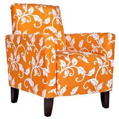 Sutton Arm Chair in Vine Pumpkin from the angelo