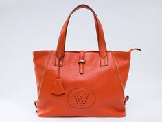 Orange OUOVO HDW087 leather bag is suit for summer
