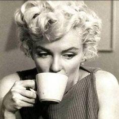 "Ani & Will on Instagram: ""Marilyn Monroe enjoys having a cuppa! :)#tea #tealover #teaculture #MarilynMonroe"""
