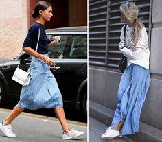 falda larga con zapatillas - Buscar con Google