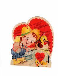 Image result for love's affection vintage Valentine card