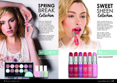 MUA Spring 2015 Collection Look Book