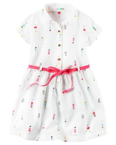 ce28d65ee47 Kid Girl Poplin Shirt Dress from Carters.com. Shop clothing  amp   accessories from