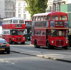 old routemaster buses in london