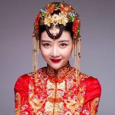 月嬌古裝新娘頭飾