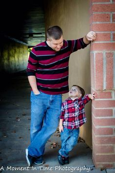 Ganny and daddy pose
