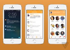 Swarm by Foursquare. All designed in Sketch.