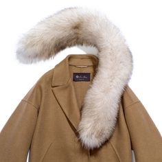 11c692aba1c Loro Piana fraser cashmere double   fox Trench