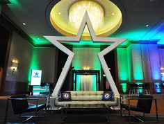 Star Entrance Football props to rent Shag Carpet, Corporate Events, Special Events, Entrance, How To Memorize Things, Stars, Dallas, Football Decor, Entryway