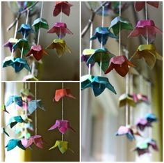 Earth Day, and KCW day one. I see a serious amount of these egg carton flower garlands in our future this spring .I see a serious amount of these egg carton flower garlands in our future this spring . Kids Crafts, Easter Crafts, Crafts To Make, Christmas Crafts, Egg Box Craft, Earth Day Crafts, Flower Mobile, Egg Carton Crafts, Flower Garlands