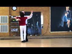 Foxtrot Dance Lesson, Promenade with Outside Turn